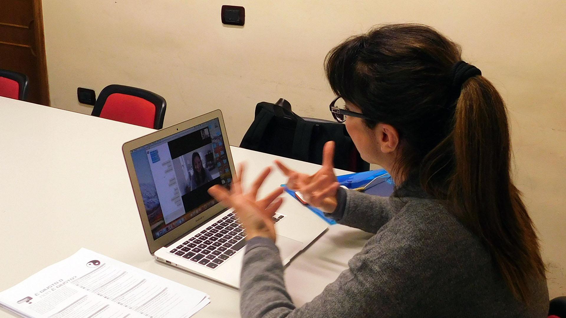 Corso di lingua online a Firenze